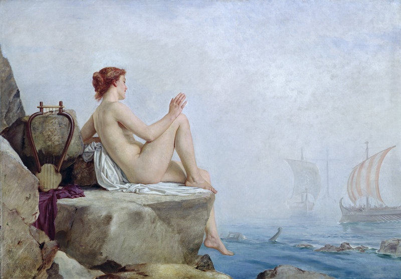 The Siren , by Edward Armitage