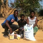 VICTOR DISTRIBUTES FOOD TO MARY AND HER CHILDREN