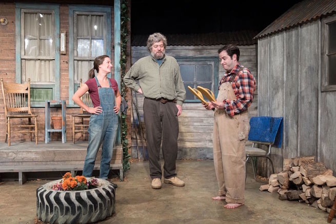 World premiere of Buying the Farm, Port Stanley Festival Theatre
