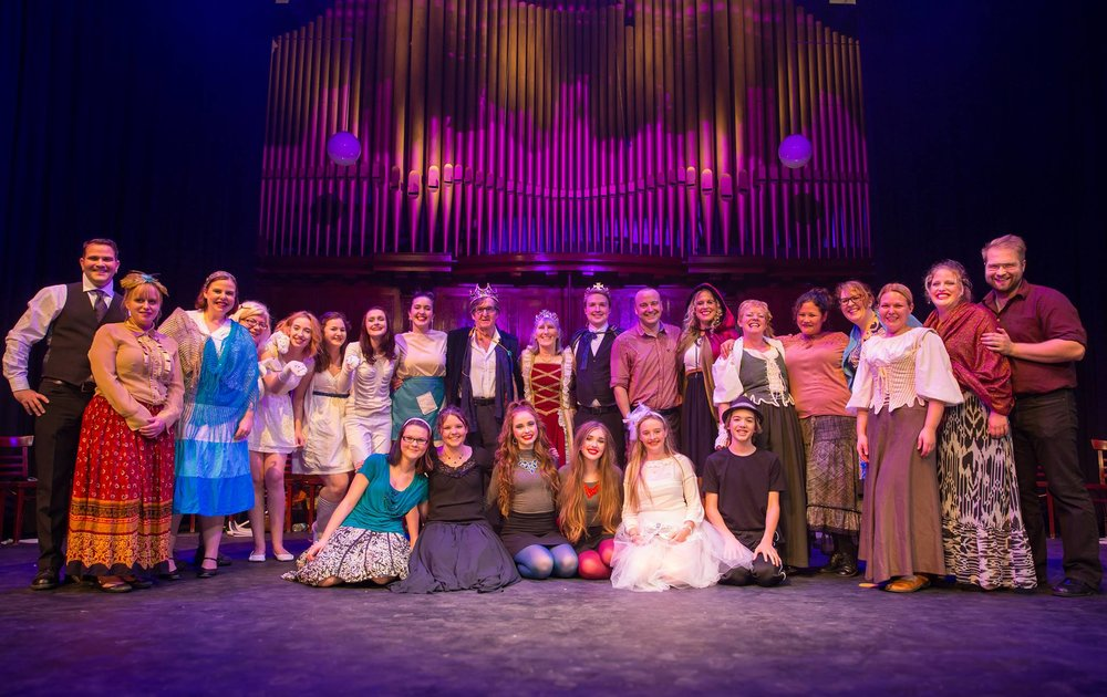 And the secret is out.... Confidential Musical Theatre Project: Cape Breton #3 was... CINDERELLA!