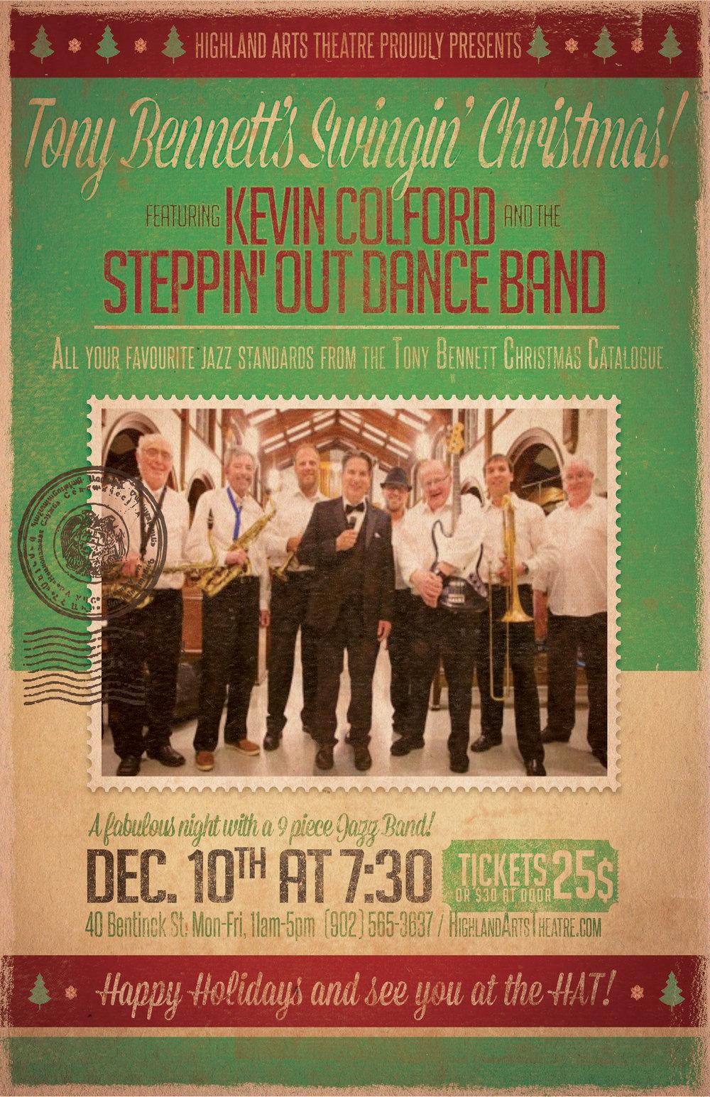 tony bennetts swingin christmas highland arts theatre