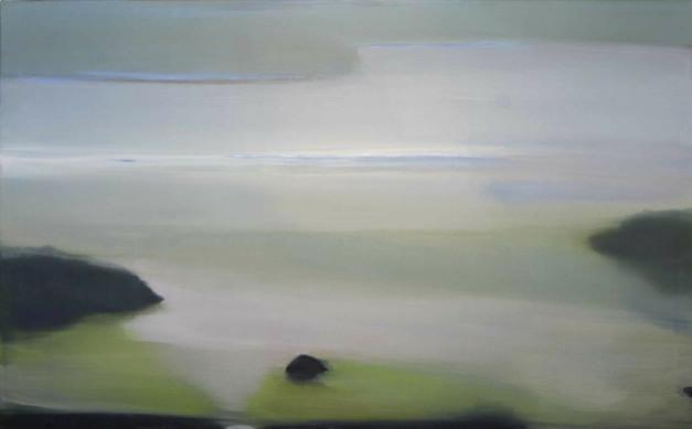 Beach II, 2012, Oil on Canvas, 42 x 75