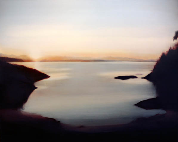 Sunrise at Hyacinth Bay,  2008 Oil on Canvas, 54 x 48, sold