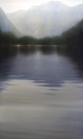 Sullivan Bay II, 2008, Oil on Canvas 60 x 30