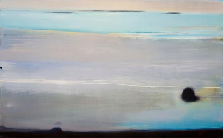 Beach I, 2012, Oil on Canvas, 42 x 75