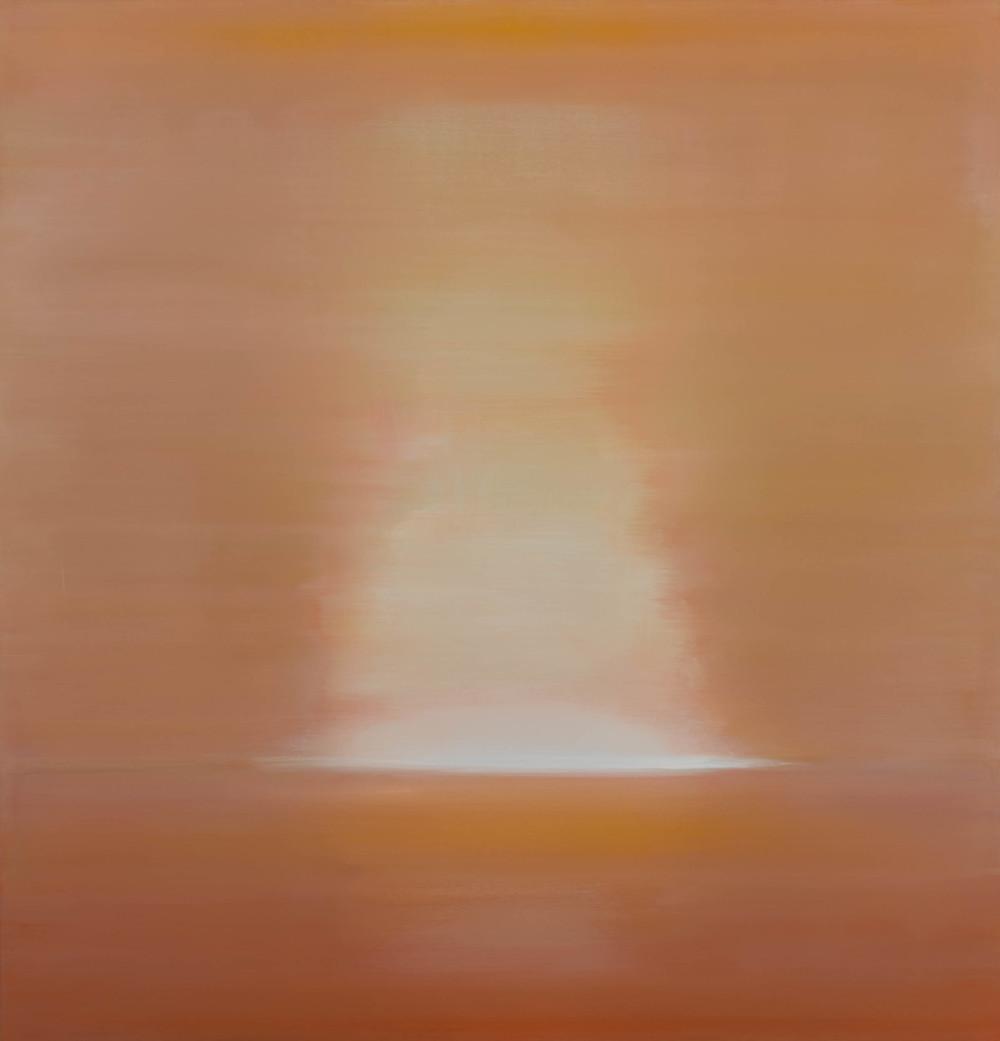 Sun, 2013, Oil on Canvas, 52 x 50