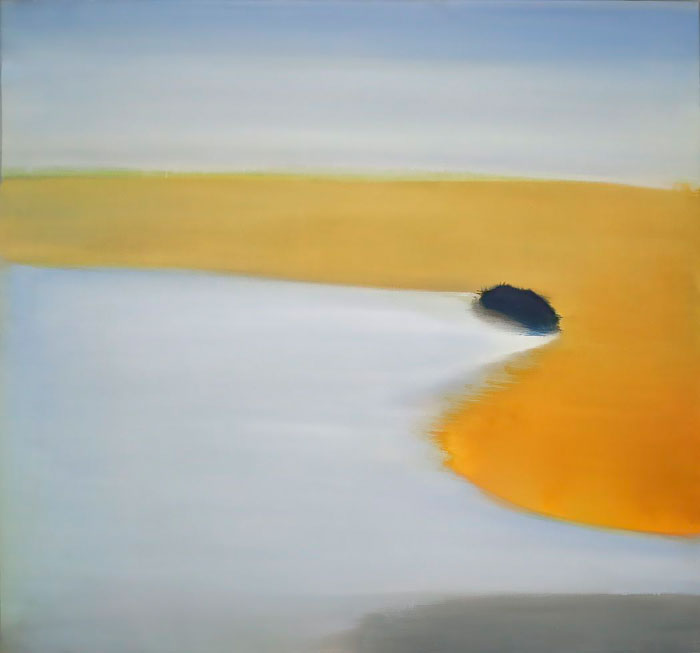 Rock II, 2012, Oil on Canvas, 36 x 39