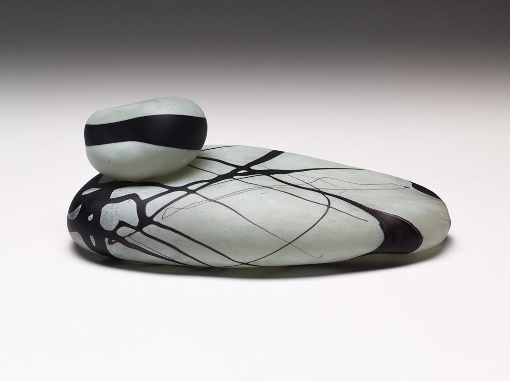 Cairn II, 2014, Blown Glass, 13 x 5 x 7