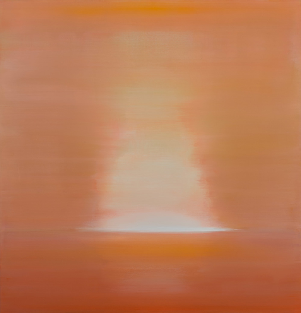 Sun, oil on canvas, Meg Holgate, 2013.