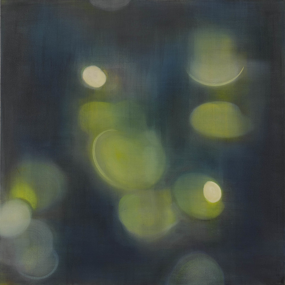 Lilypads, 2013, Oil on Canvas, 36 x 36