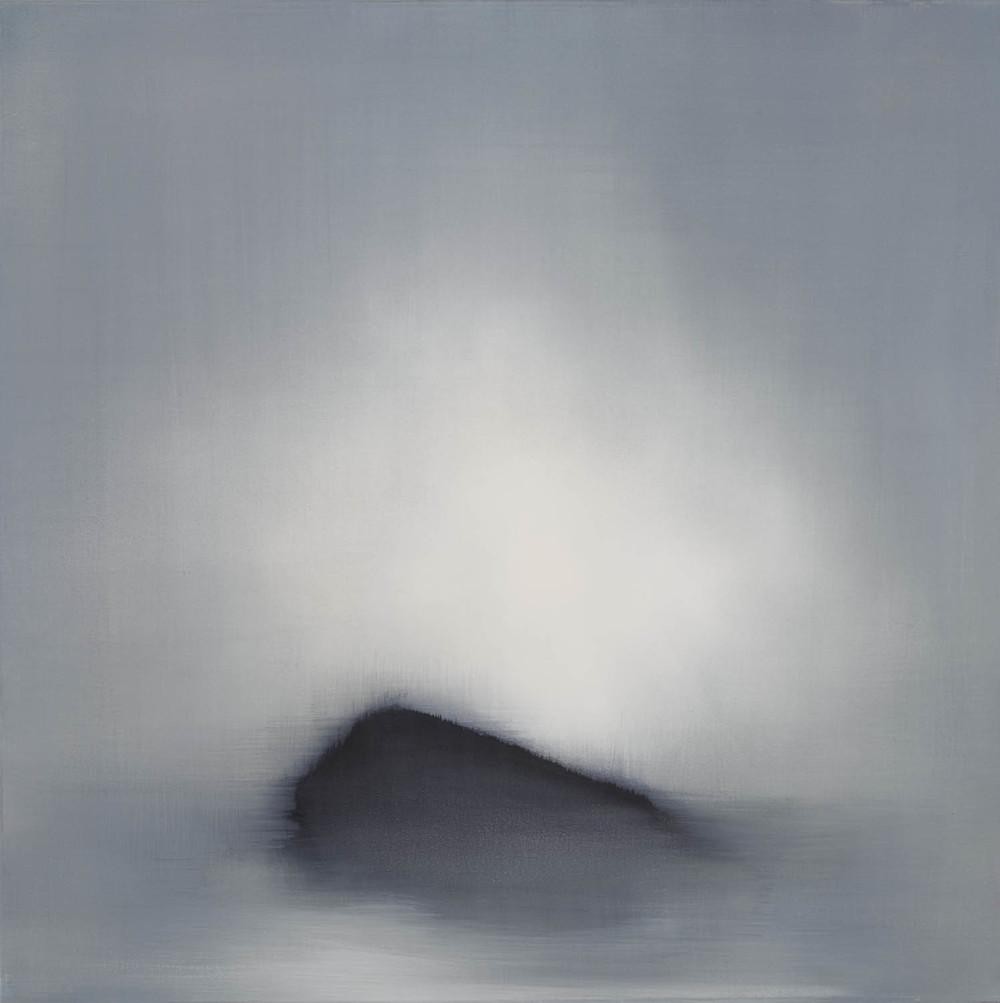 Island, 2015, Oil on Canvas, 30 x 30