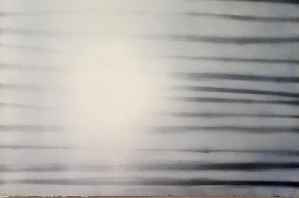 White Light II, 27 x 34