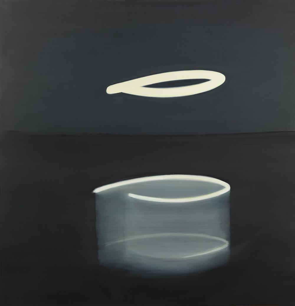 "Moonshine IV, Oil on canvas, 52"" x 50"""