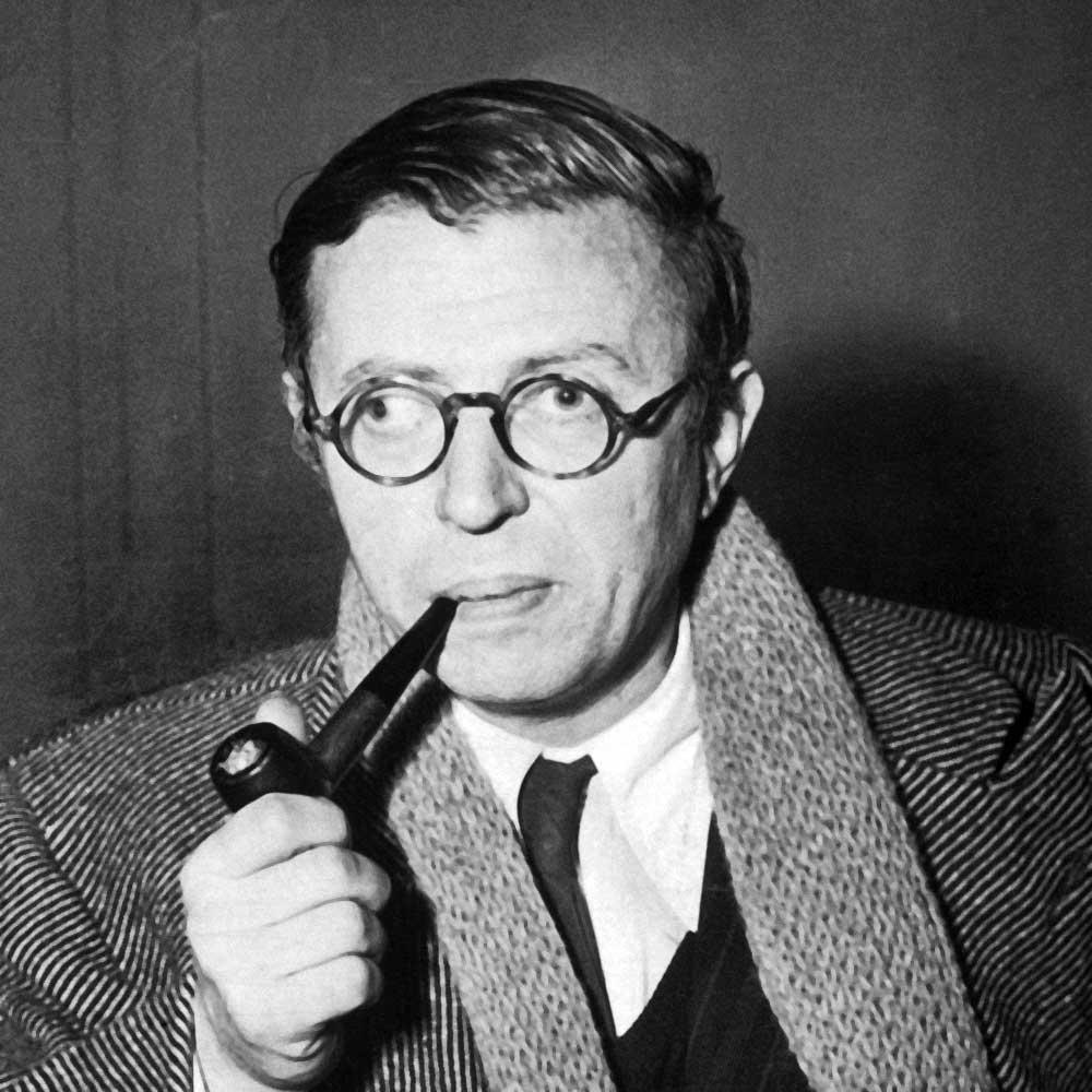 JP Sartre, un type parfois un peu louche...