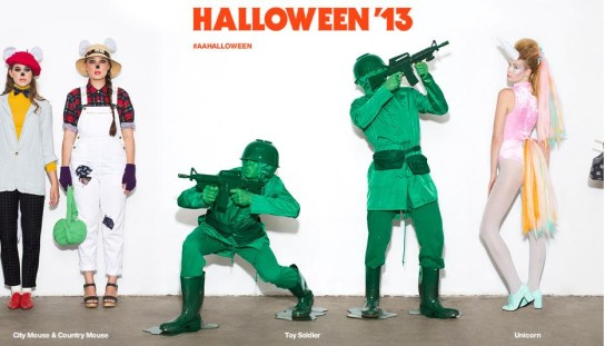 the popular clothing shop american apparel really made finding a halloween costume easier last year with its very own halloween shop heres the cool spin