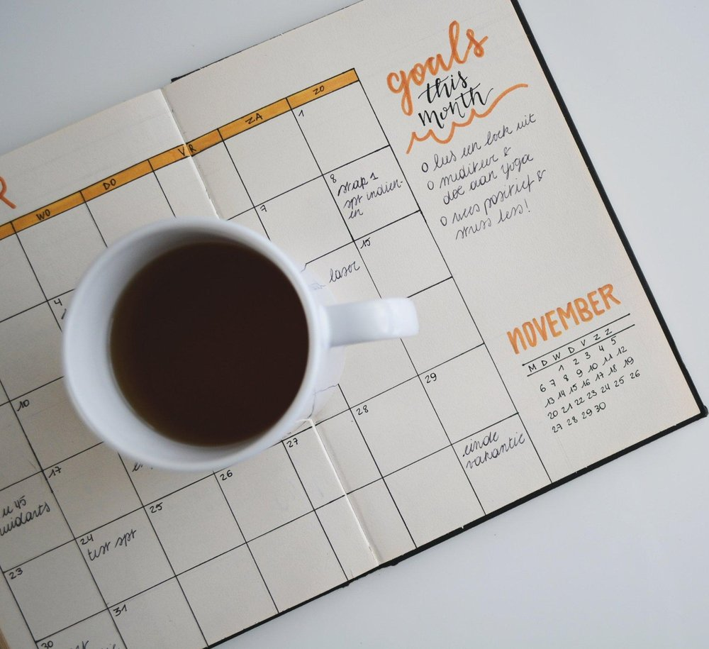 Step 2: Organize the content on your editorial calendar. (Photo credit: Estee Janssen on Unsplash)