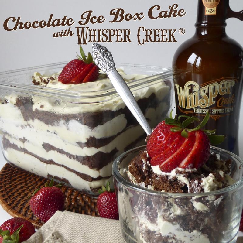 Making chocolate box cake better