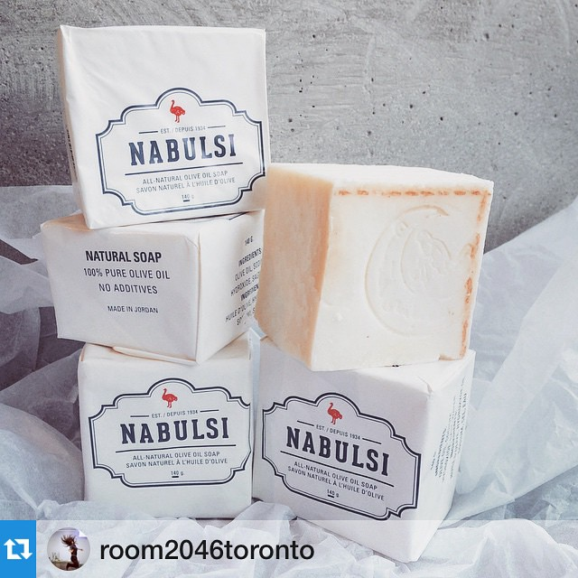 You can now purchase your #NabulsiSoap at @room2046toronto in #Summerhill! #repost -