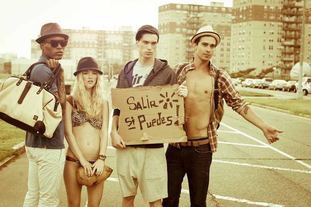 Hipsters on Holiday : Block Summer Campaign