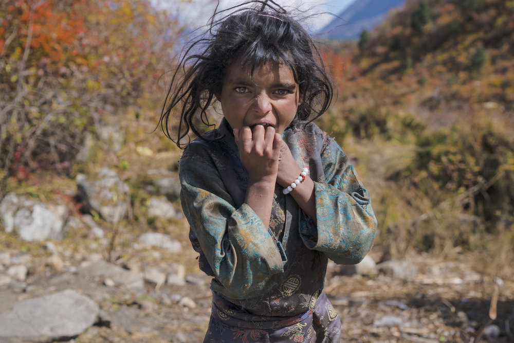 nyima nepal portrait