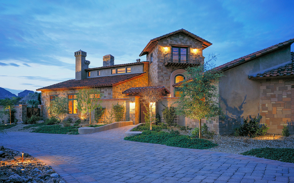 Poggio Paradiso  Custom Home, Clear Water Hills AZ