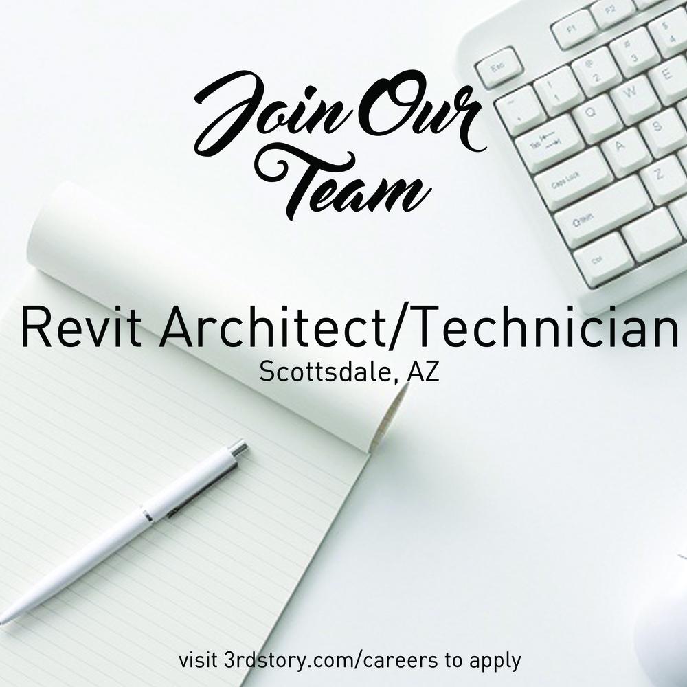 revit architect position