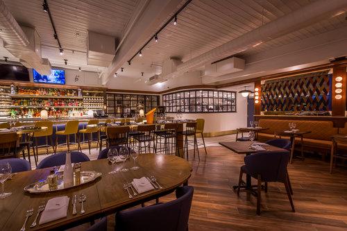 Restaurant Kitchen View 3rd story designs fat ox - a modern italian restaurant in the