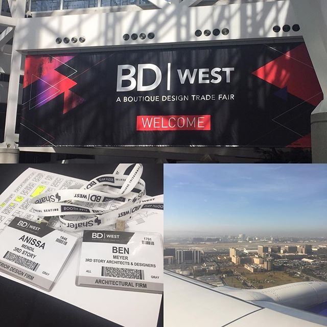 3rd story in LA. #bdwest2017 #hospitailitydesign #design #architecture #learning #california