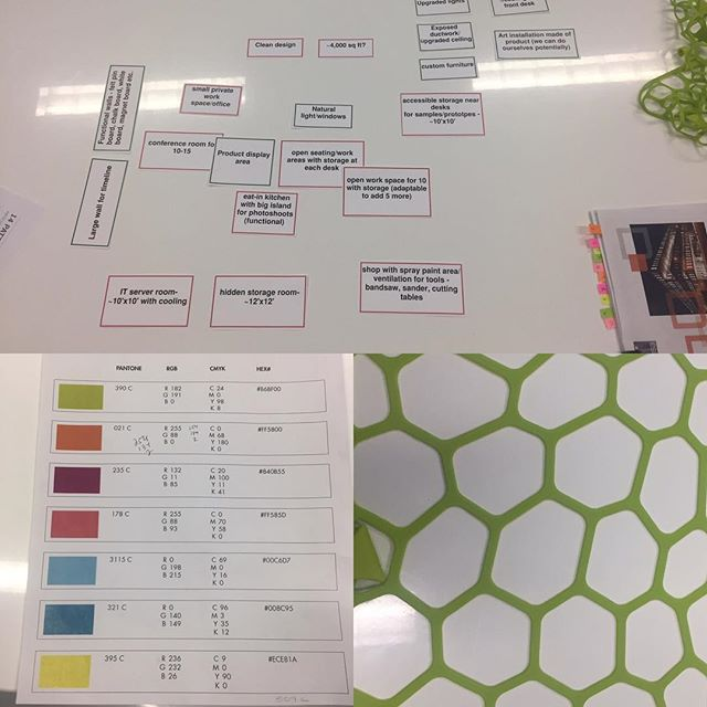 The early phases of creating a new office design for a cool client in Phoenix. #officedesign #biophilia #workplace #itsallintheplanning #3rdstory #design #architecture #creativeideas