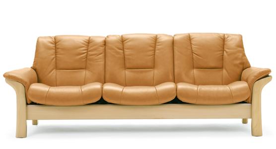 Buchingham Lowback   3 Seater