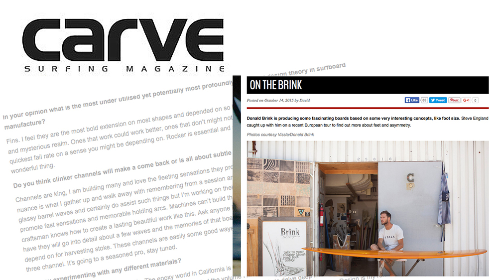 Carve Magazine On the Brink