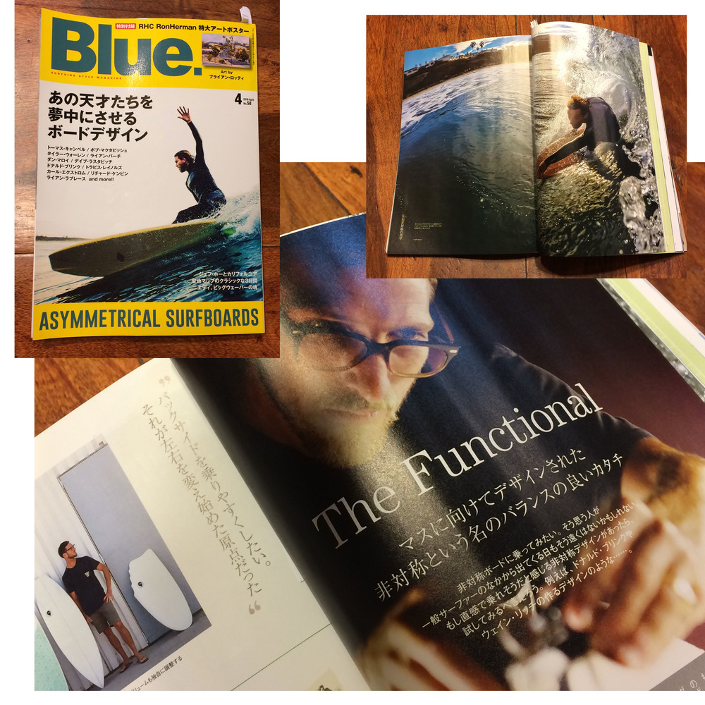 blue magazine Japan