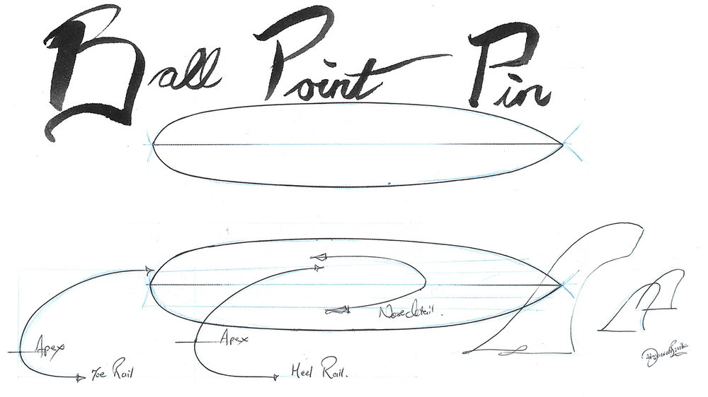 the Ball Point Pin