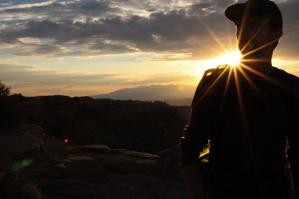 Sunrise at Mesa Arch, Utah