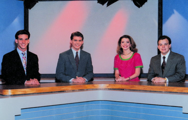 The original anchors of Wake Up, Germantown!