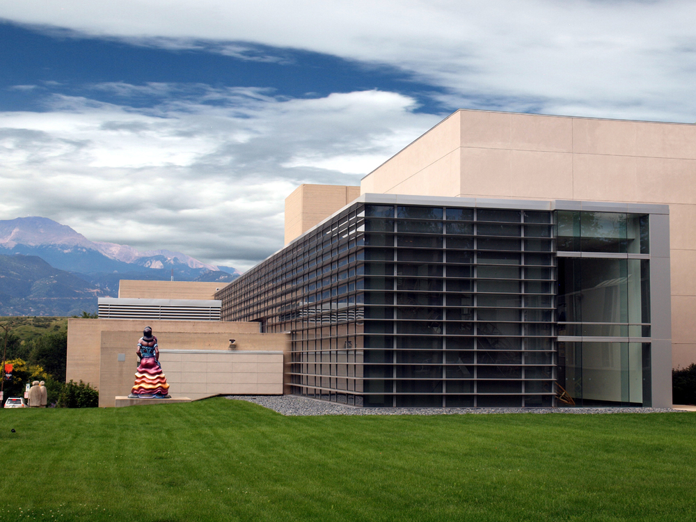 Colorado Springs Fine Arts Center, Tryba Architects  (prior to establishing Janco Designs)  Photo: Janco Designs