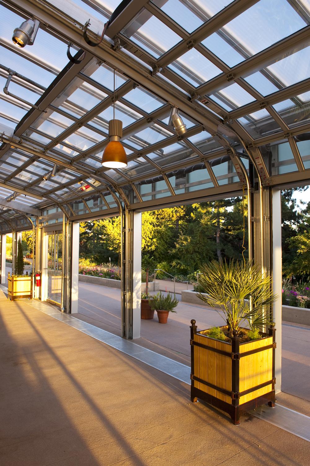 Denver Botanic Gardens, Tryba Architects  (prior to establishing Janco Designs)  Photo: Scott Dressel-Martin