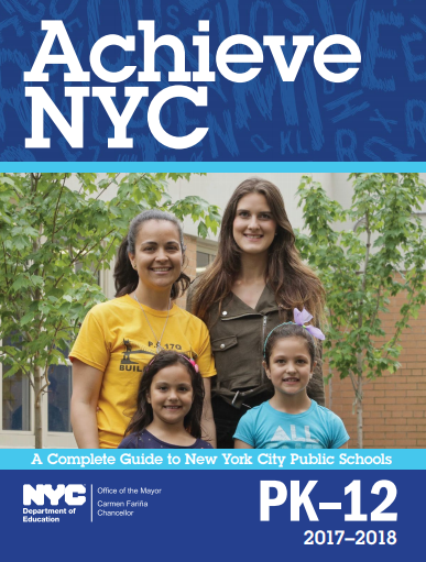aCHIEVE nyc gUIDES FOR pARENTS