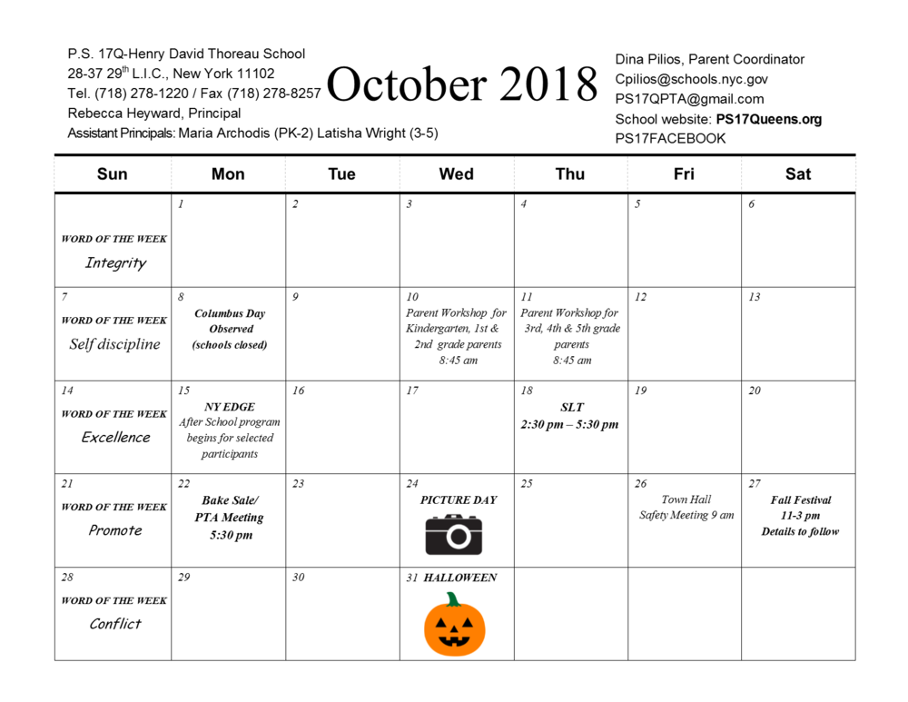 2018-2019 planning calendar OCTOBER final 2018.png