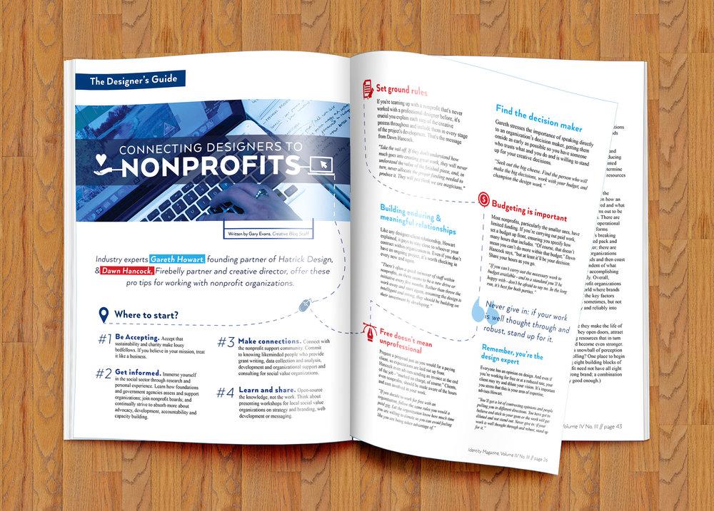 Identity Magazine, a branding magazine