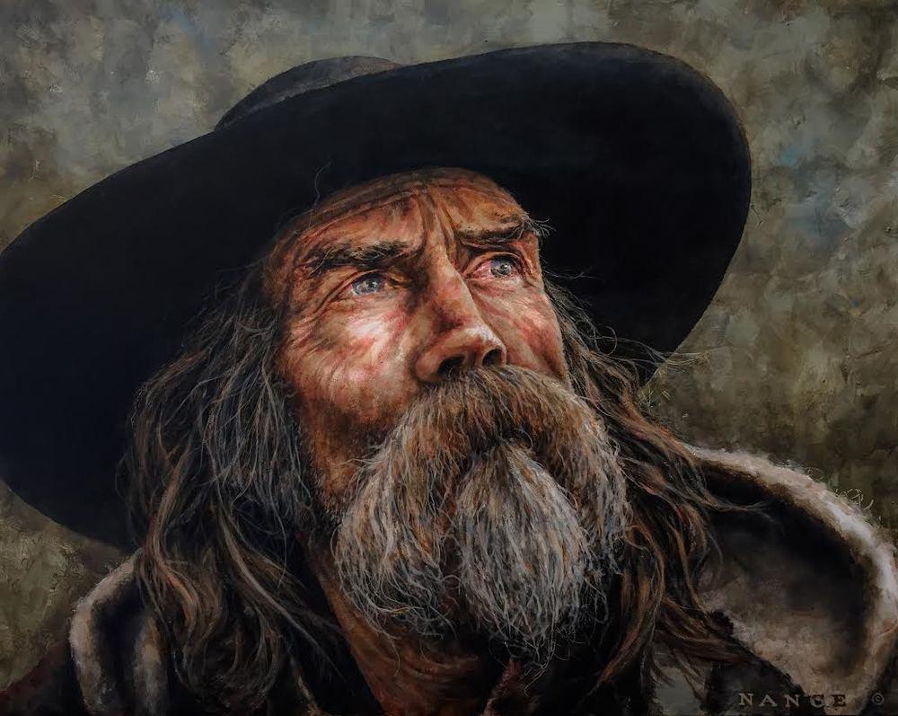 LATEST WORK - Through Mountain man's eyes-