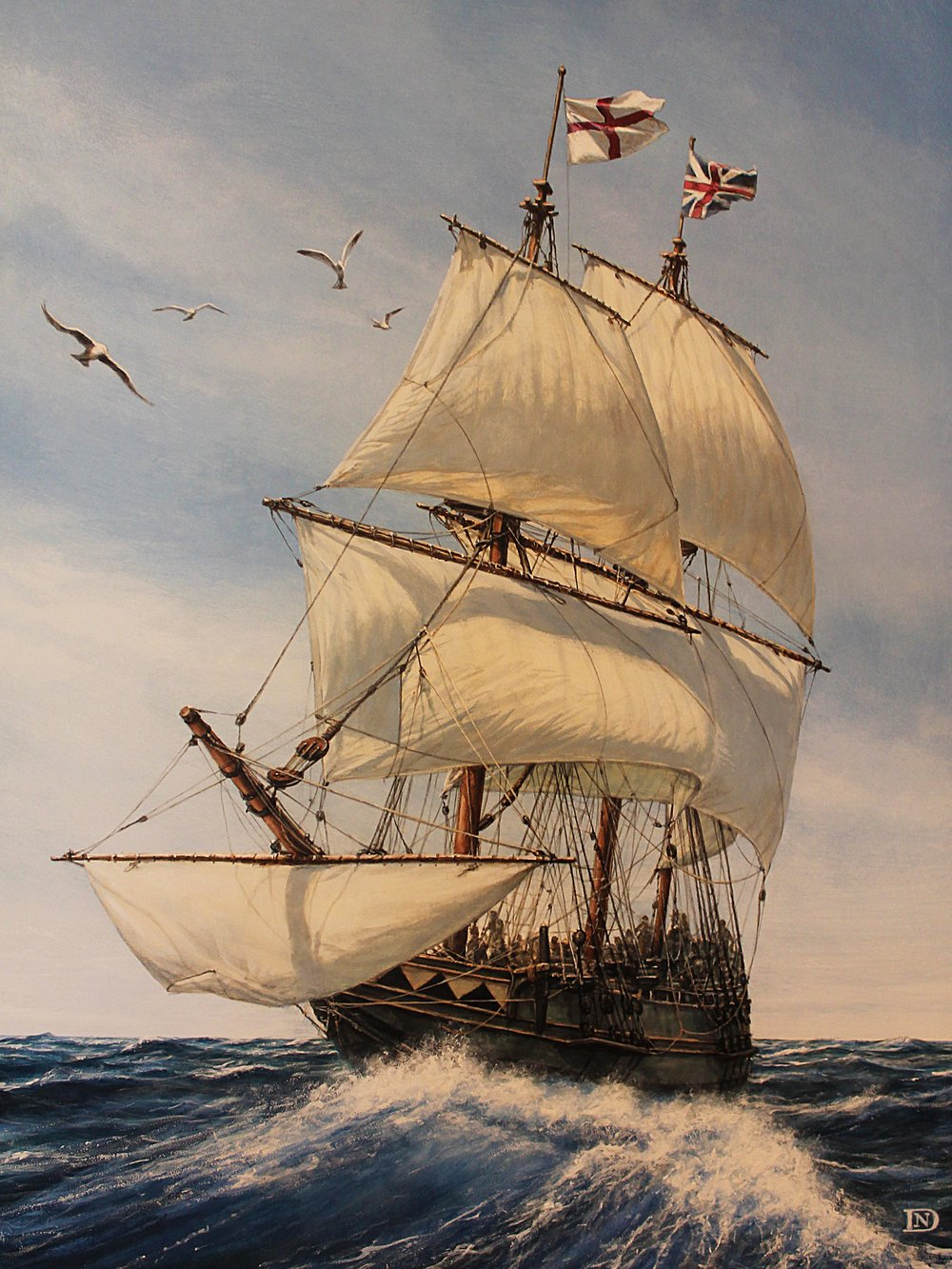 Latest Work - THE MAYFLOWER