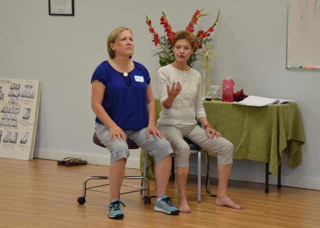 Judith teaching movement