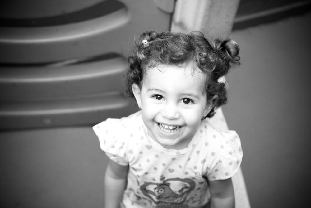 Helô em seu aniversário de 2 anos