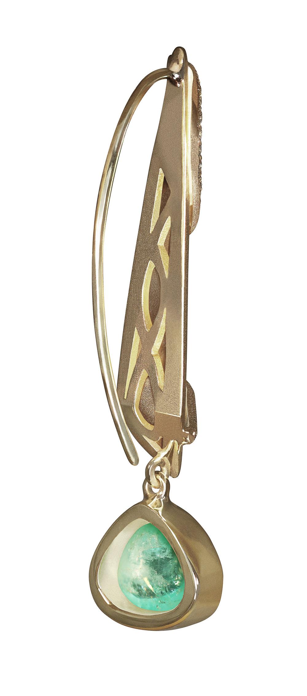 Serpent Goddess Earrings