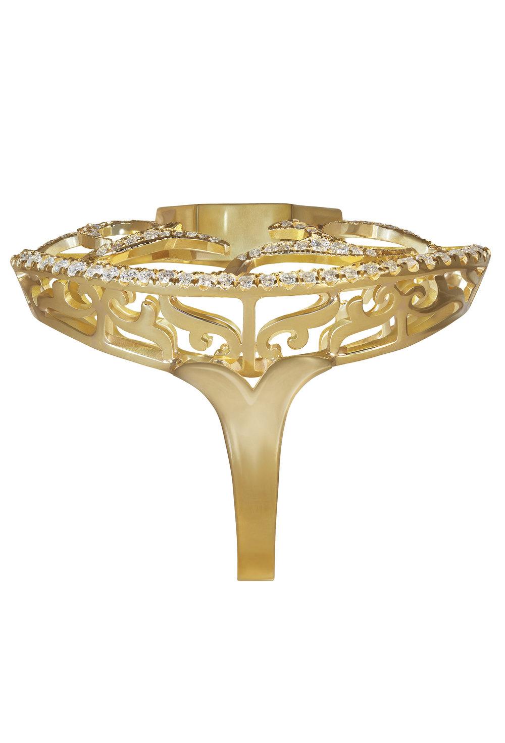 Antler Cocktail Ring