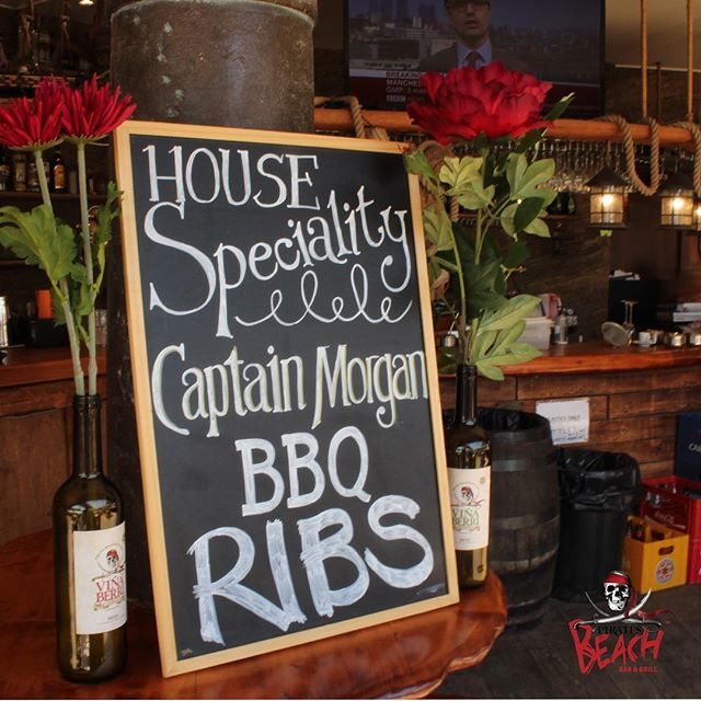 You HAVE tried the ribs......right??? #bbqribs #foodiesofinstagram #foodies #magaluf #magalufbeach #magalluf #piratesbeachbar