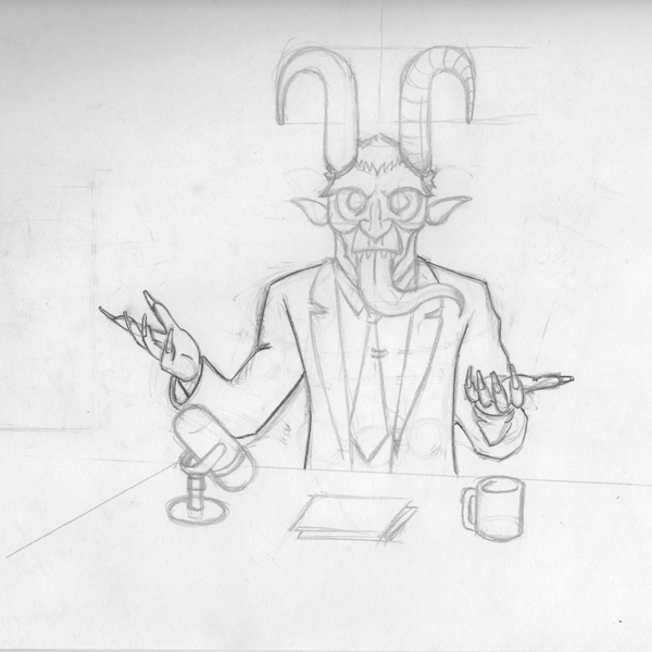 2015, Krampus Letterman sketch.