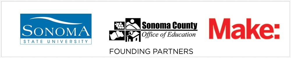 sonoma state logo, sonoma county office of education logo, make logo