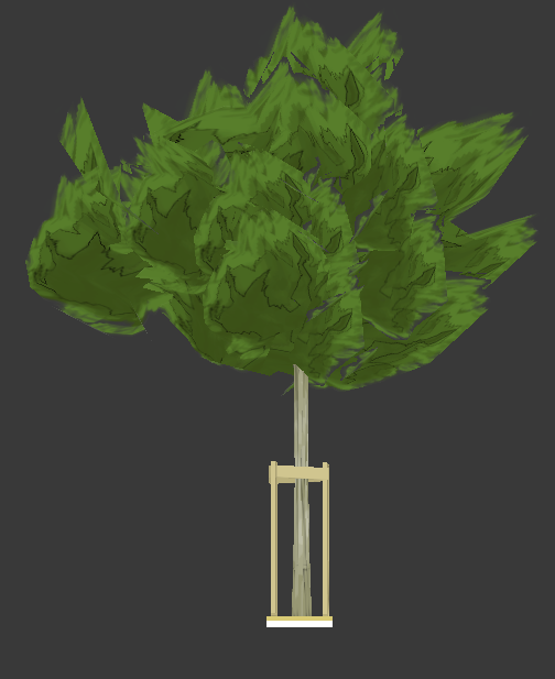 tree in progress